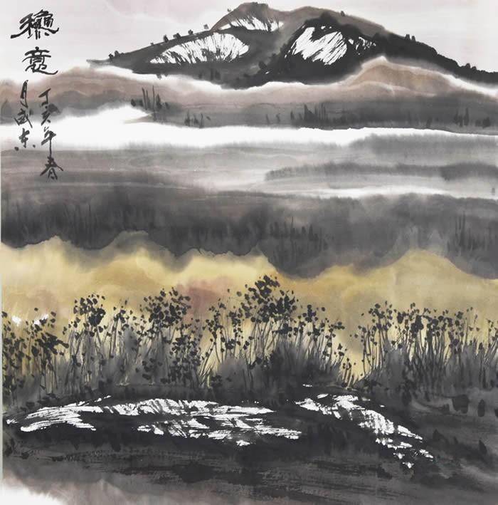 潘威东山水画 《秋意》