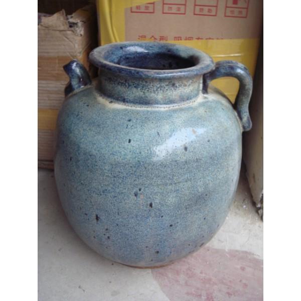炉钧釉白瓷壶