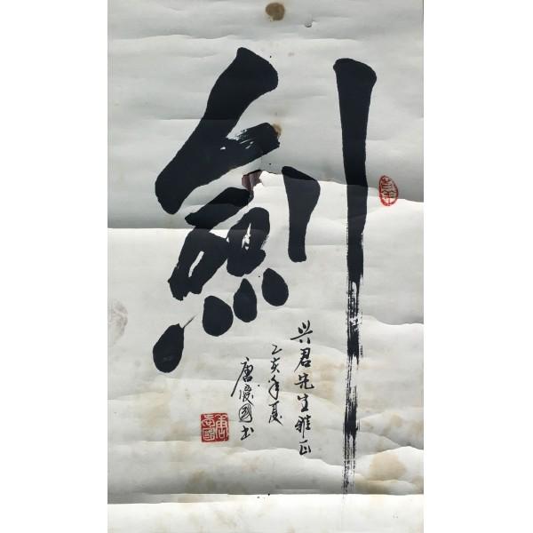 唐庆国  书法  33X68CM
