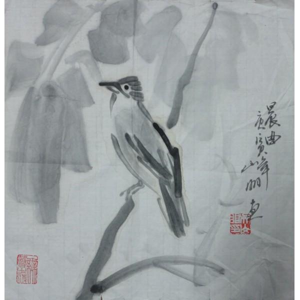 吴山明  花鸟