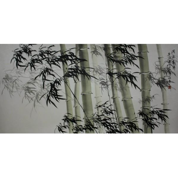 卢坤峰 清风高节图