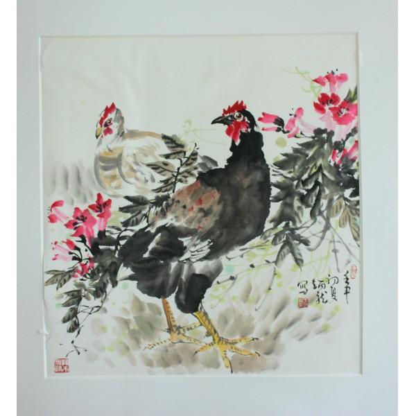 王炳龙 鸡